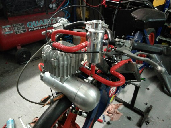 Finalisation circuit refroidissement Kreidlex