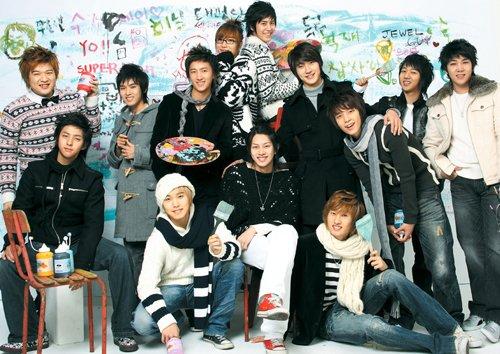 groupe des super junior