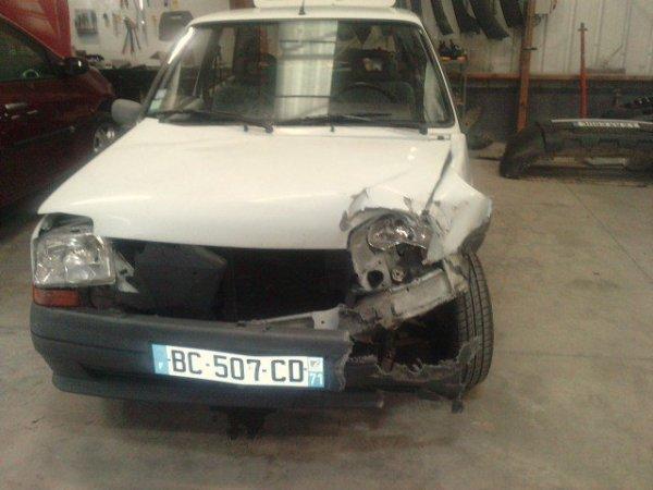 j'ai eu un accident avant hier a 9h30