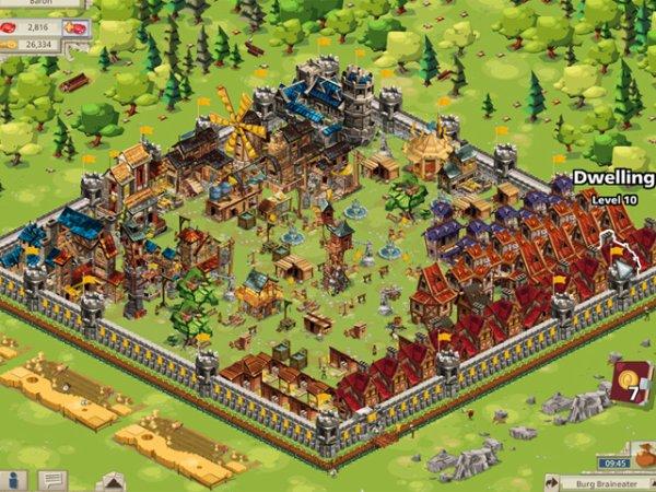 Une vue sur Goodgame Empire