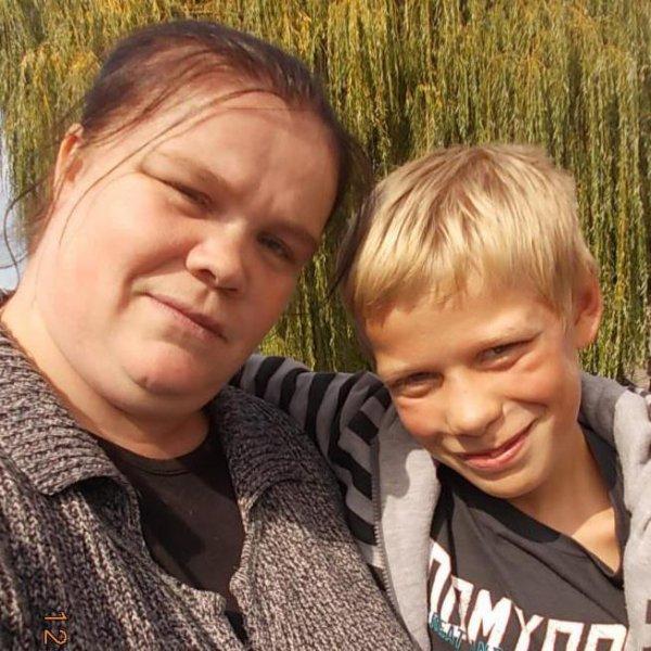 moi et mon fils clement