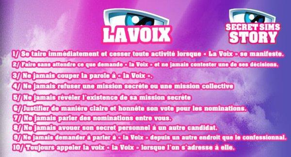 LES 10 COMMANDEMENT DE LA VOIX