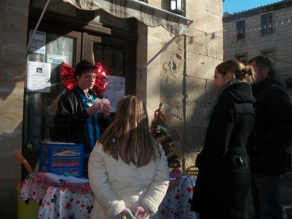 MARCHE DE NOEL D ALET LES BAINS 2012