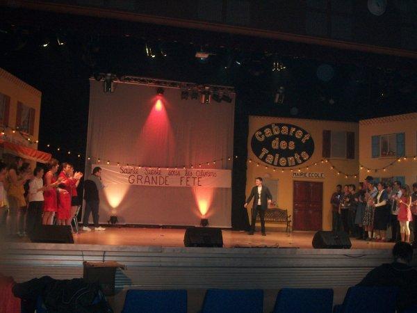 Mon passage au cabaret des talents (Drome)