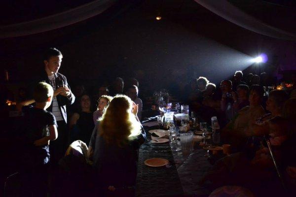 quelques photos de la soirée à Belvèze