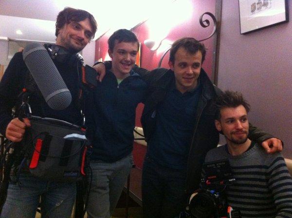Les cameras de TF1 au chapeau rouge de Carcassonne