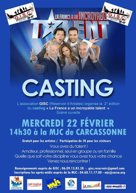 casting incroyable talent
