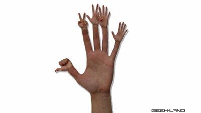 une main plutot... bizarre