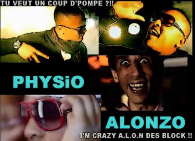 "6EME CLiP OFFiCiEL DE L'ALBUM ""LES TEMPS MODERNE"" ALONZO - PHYSiO"