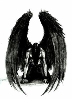 ange noir