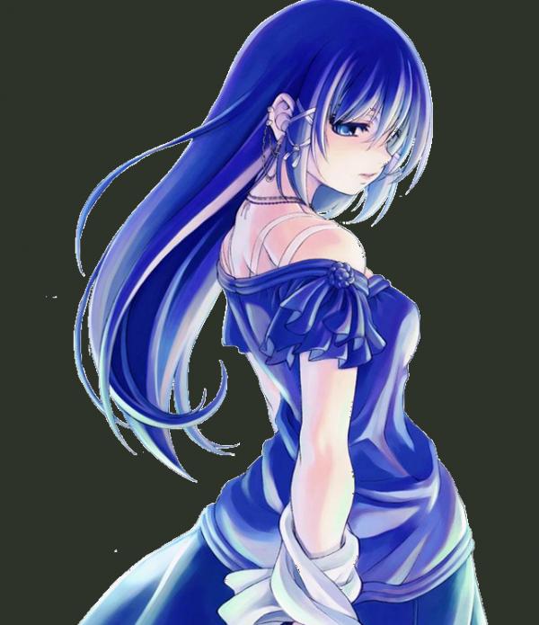 Une fille toute bleue(DE)