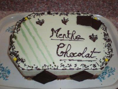 mousse menthe chocolat tres frais !!!