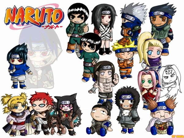 Le petit monde de Naruto
