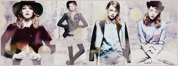 . ● ● ● Bienvenue sur StoneEmma - ta source d'actu' sur la talentueuse Emma Stone ! Suis toute l'actualité de cette actrice grâce à ce blog source et ses nombreux articles, tels que ses candids, photoshoots, events, autres. .
