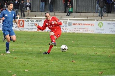 Football: Jura Dolois n'y arrive pas...