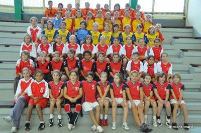 Handball: coupe d'automne 2010 moins de 12ans F à Dole