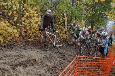 Vélo Club Dolois: Championnat régional de cyclo cross à CRISSEY
