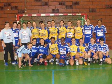Vendredi 20h15 handball amical à la MJC Dole: Dijon F (D1) face à l'ESB F (D1) à 20h15