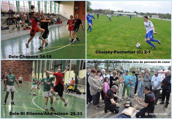 Quelques images du week-end sportif