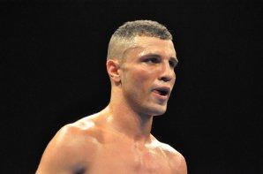 Boxe anglaise: Latreche sur le ring du Palais des Sports de Dijon