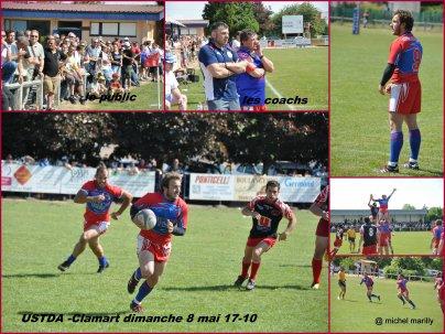 Rugby F3: Tavaux en 1/16e de finale  17-10