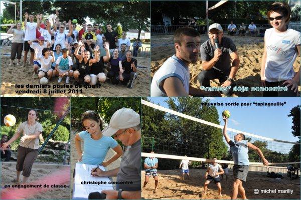 Beach Volley: fin des qualifications...place aux quart de finale lundi 11 juillet