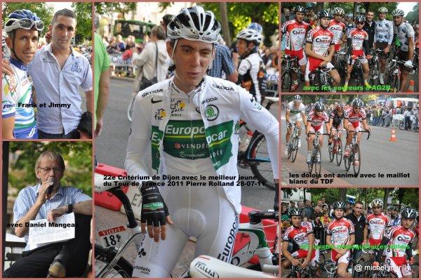 Cyclisme: 22eme critérium de Dijon