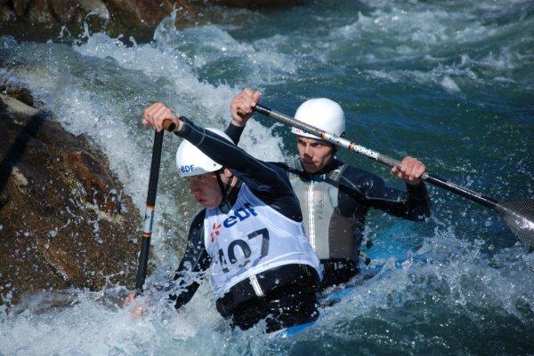 METZ:  Championnats de france de Canoë Kayak