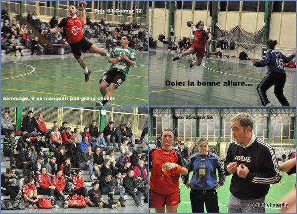 Handball: Natioanle 3 M et F  Basket Jura Dolois Basket