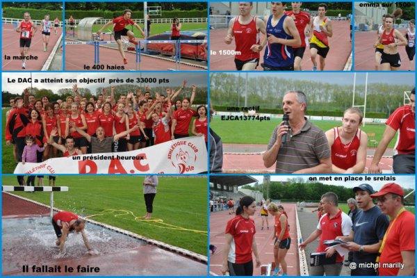 Athlétisme: Le DAC vers la Nationale