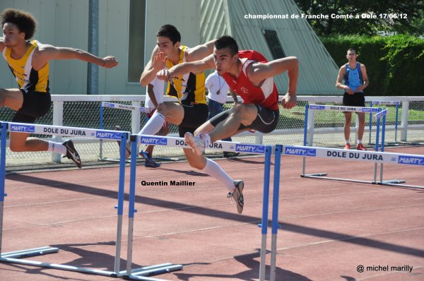 Championnats de Franche Comté à Dole dimanche 17 juin
