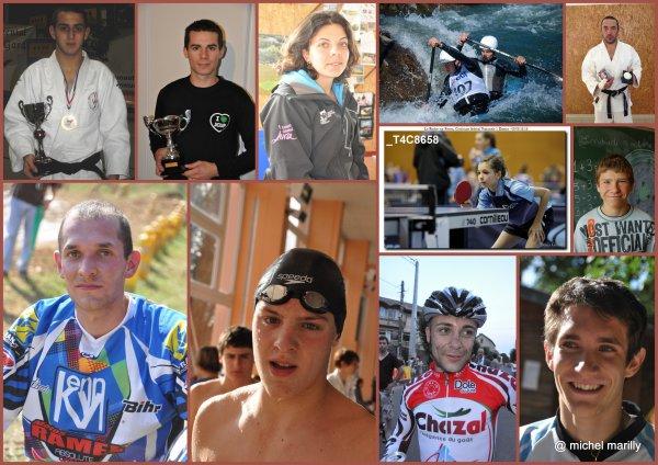Les Sportifs Nord-Jurassiens de l'année 2012