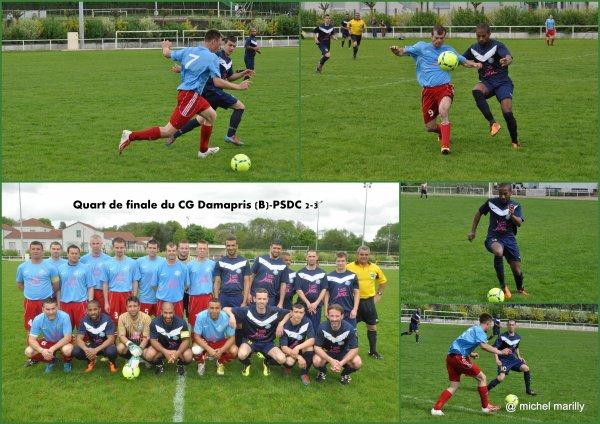 Le PS Dole Crissey en demi finale de la coupe du CG