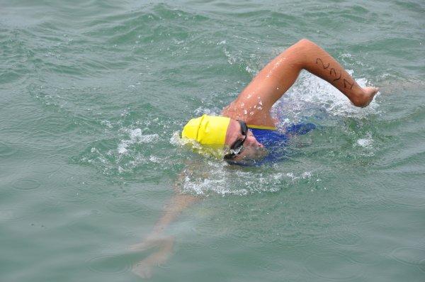 1er triathlon Sprint CLM de Dole