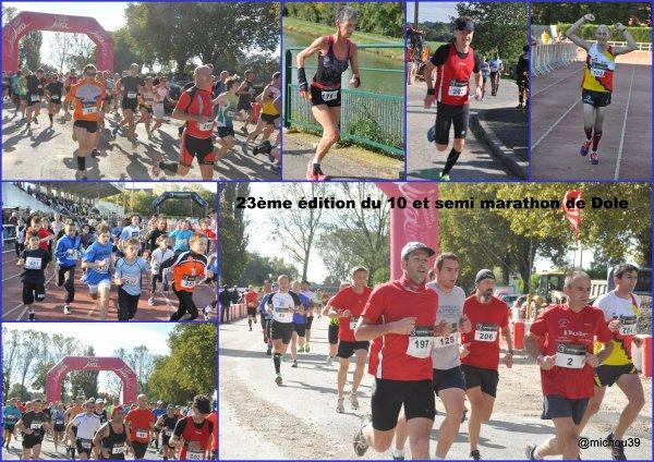 Retour sur les 10 km de Dole et du Semi Marathon