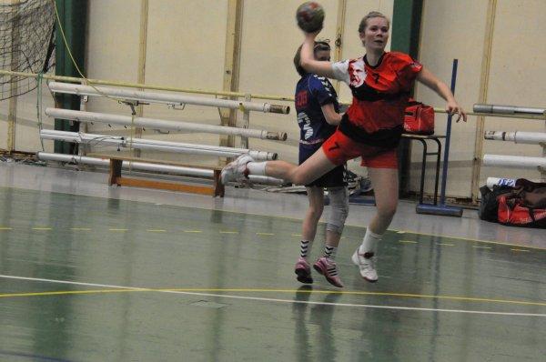 Handball Dole N3F et Chaussin Prénat au top