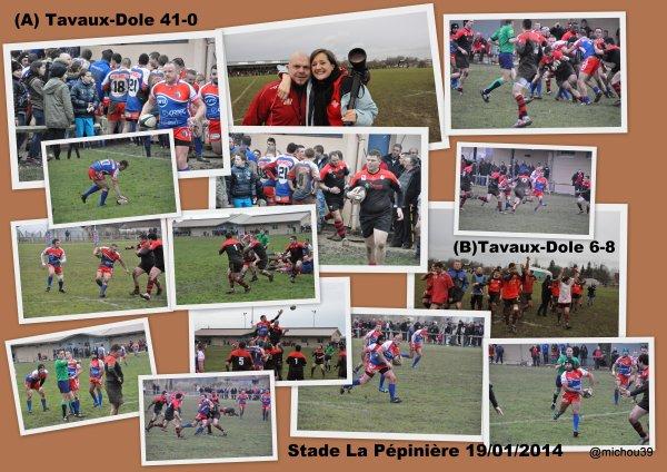Retour sur le match Tavaux-Dole en images