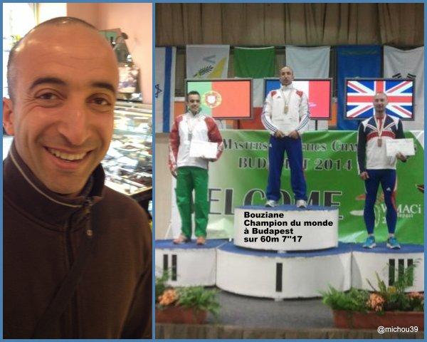 Bouziane Belghorzi médaillé d'or à Budapest