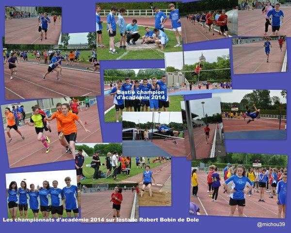 Les images des championnast d'académie d'Athlétisme à Dole