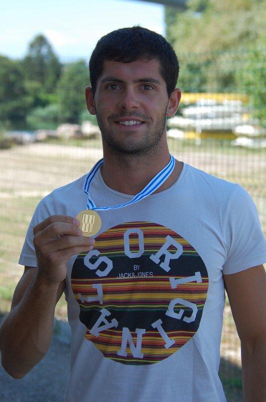 Médaille d'or pour Demontfaucon à Aiguebelette