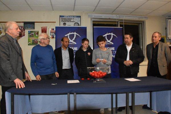 Tirage de la Coupe De Franche Comté de Football à Tavaux ce mardi soir!