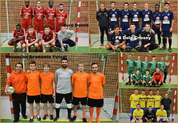 les éliminatoires de la coupe Nationale de Futsal