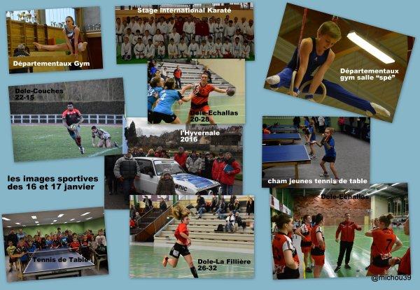 Quelques images du week-ed sportif