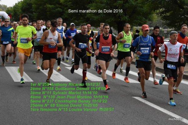 le programme et résultats des 08 et 09 octobre 2016