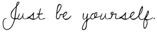 Laisse jamais personne te faire croire que tu ne mérites pas ce que toi tu veux.