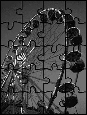 Mettre une image en noir & blanc et puzzle
