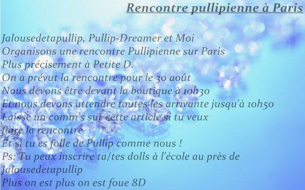 RENCONTRE PULLIPIENNE SUR PARIS