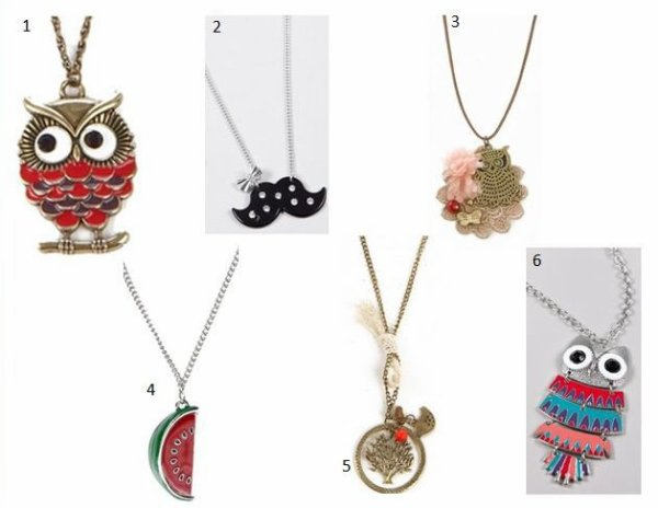Idée de bijoux pour accessoiriser vos tenues !