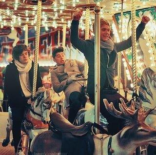 Niall, Zayn et Harry <3.