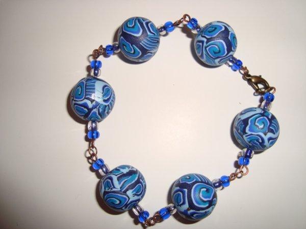 Le bracelet bleu hypnose